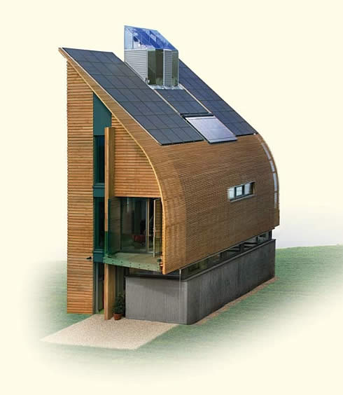 Net zero home for Netzero house
