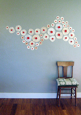 Decorating with recycled materials