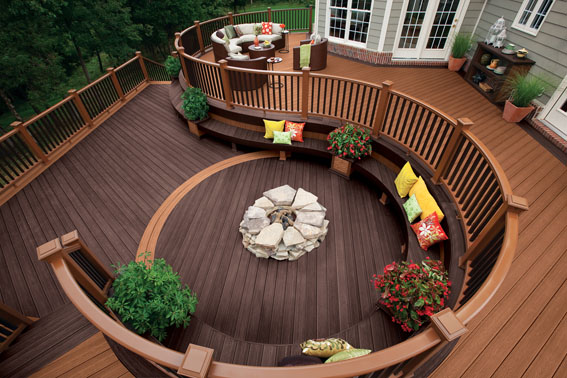 materials for sustainable patios and decks