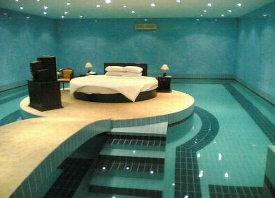 Bedroom in your swimming pool anyone?