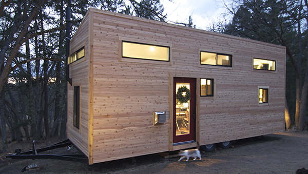 tiny home front
