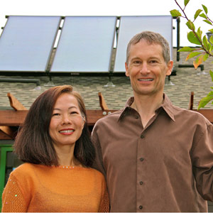 Chie Kawahara and husband Kurt Hurley build Santa Cruz's first Passive House