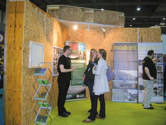 Modcell at the show