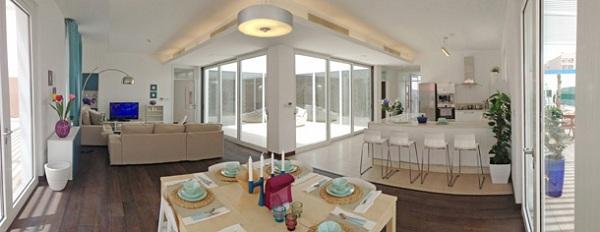 qatar passive house inside