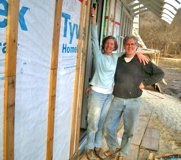 John and Nancy in progress