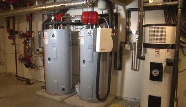 NIST solar water heating