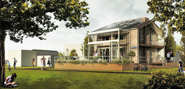 Solar Skin competition house in Versailles