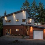 "Family Decides to ""Walk the Walk"" and Builds a Prefabricated Passive House in South Surrey"