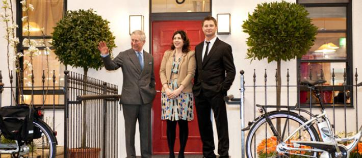 at the Ideal Home Show 2011